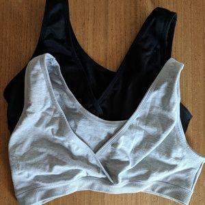 52d848cdd H M Intimates   Sleepwear - H M mama 2-pack sleep nursing bras almost new